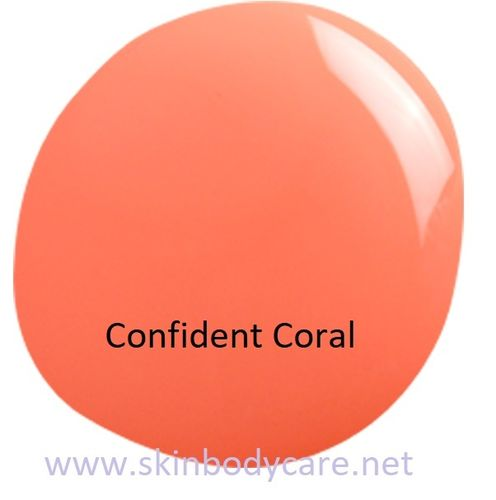 GEL NAIL LACQUER CONFIDENT CORAL