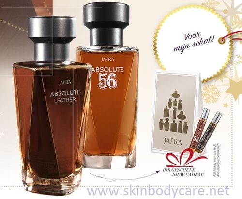 ABSOLUTE CHRISTMAS PARFUM SET + 2 tasverstuivers cadeau